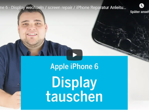 ➡Apple iPhone 6 Display Reperatur Tutorialvideo