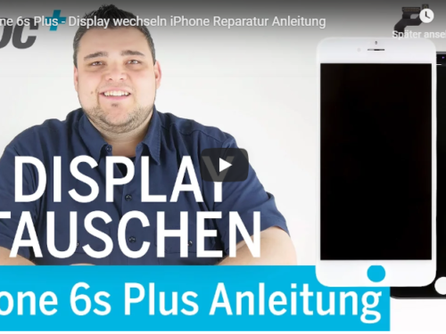 ➡Apple iPhone 6s+ Display Reperatur Tutorialvideo