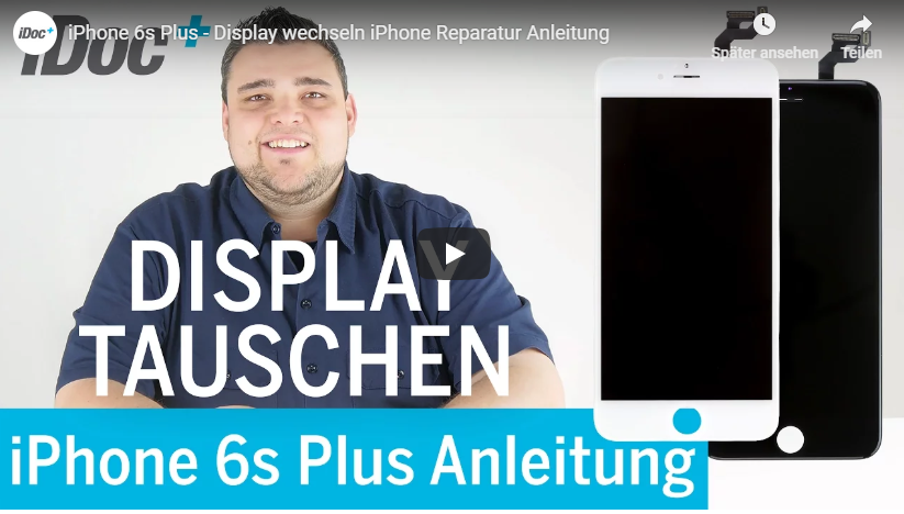 iphone 6s display wechsel reperatur tutorialvideo