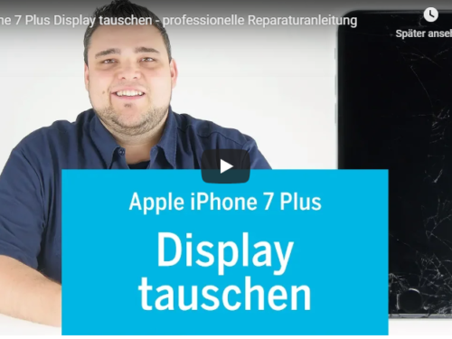 ➡Apple iPhone 7+ Displaywechsel Reperatur Tutorialvideo