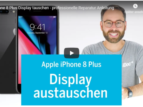 ➡Apple iPhone 8+ Display Reperatur Tutorialvideo