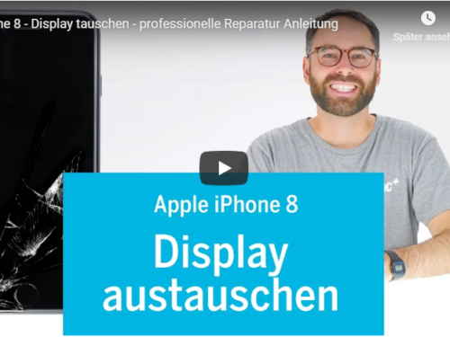 ➡Apple iPhone 8 Display Reperatur Tutorialvideo